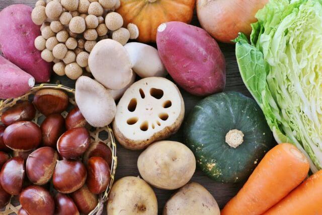 秋の旬の食材